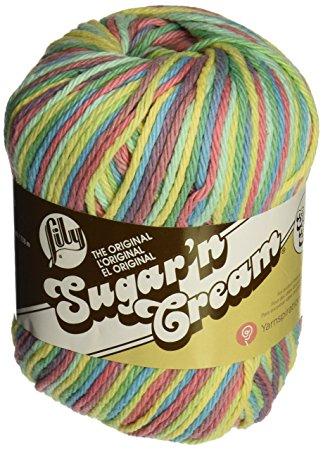 Sugar N Cream Cotton Yarn - Candy Sprinkles Ombre