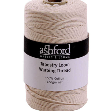 Tapestry Loom Warping Thread 200gm 100% cotton