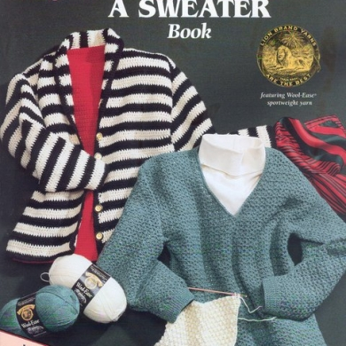 The Learn to Crochet a Sweater Book