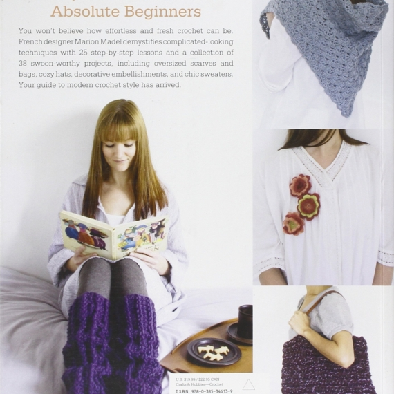 The New Crochet: A Beginner's Guide 38 Patterns