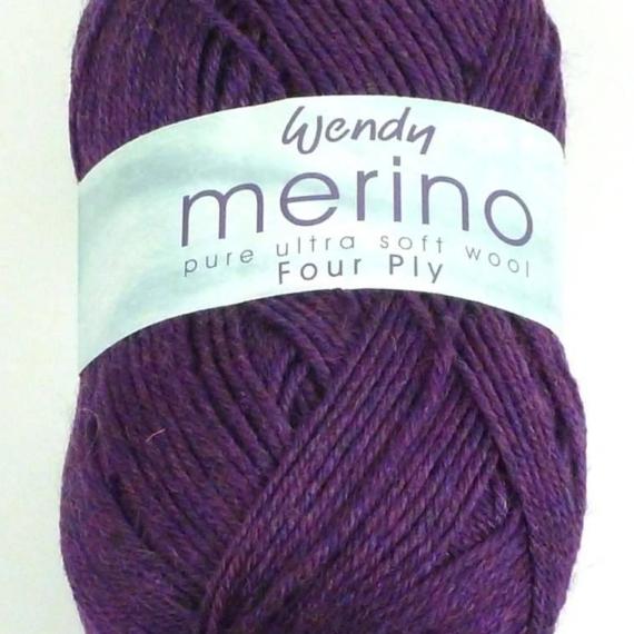 Wendy Merino 4ply - Mulberry #2372
