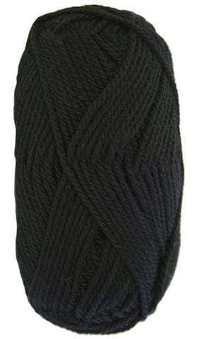 Woolcraft pure wool 8ply Black - 1000