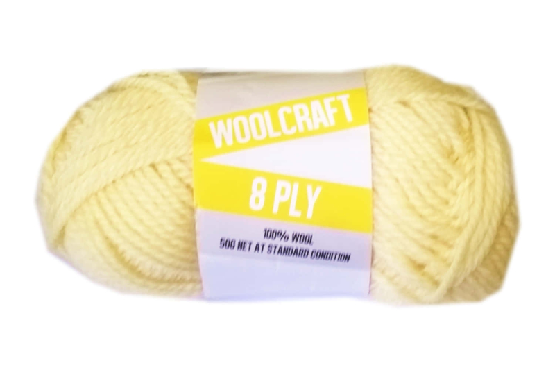 Woolcraft pure wool 8ply Honeydew - 1012