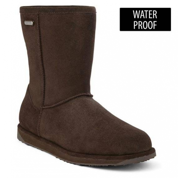 EMU Paterson Lo waterproof choc