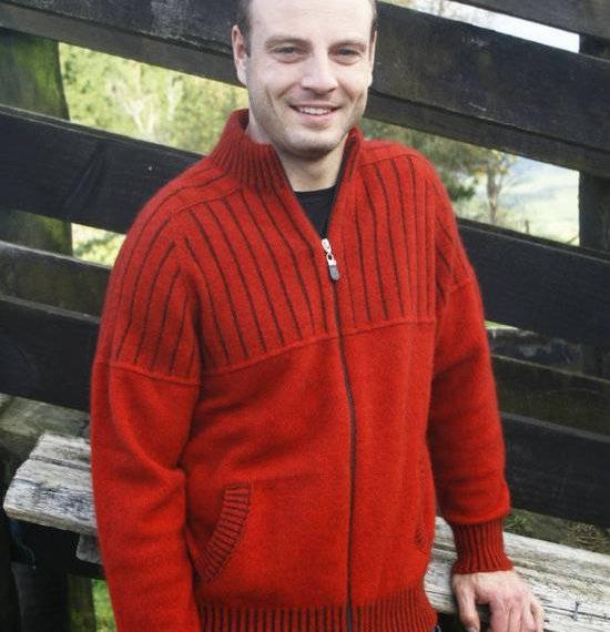 Possum Merino Zip Jacket