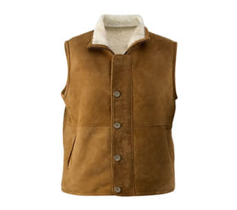 Wild Goose Sheepskin Harry Vest