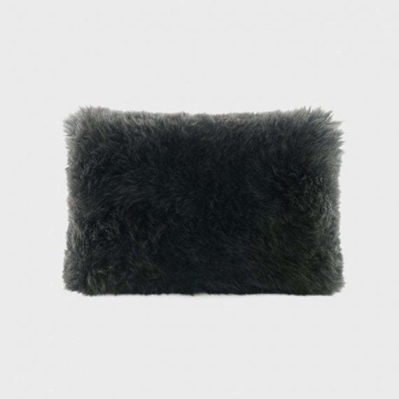 Ugg Australia Sheepskin Cushion Black 30x50