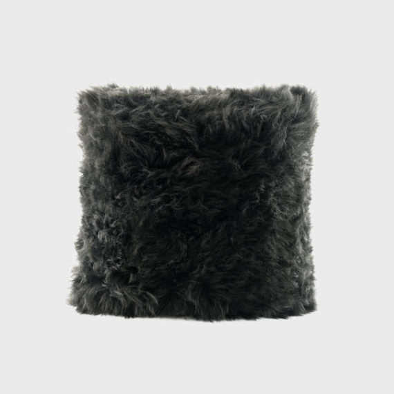 Ugg Australia Sheepskin Cushion Black 40x40