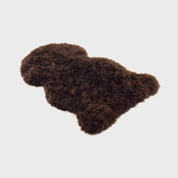 Long Merino Sheepskin Rug XL Black
