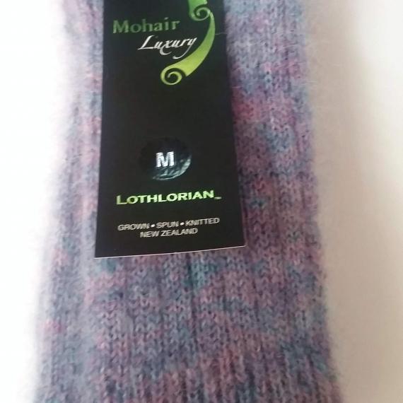 Mohair luxury socks