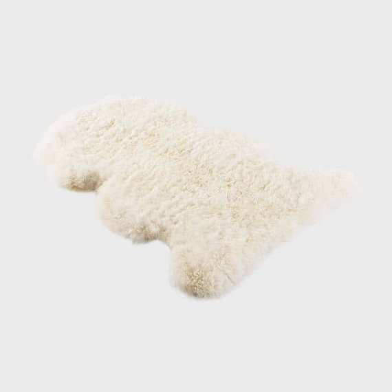 Long Merino Sheepskin Rug Large