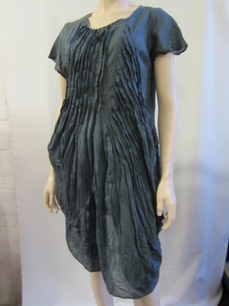 Assymetric Pleated Top With Pockets