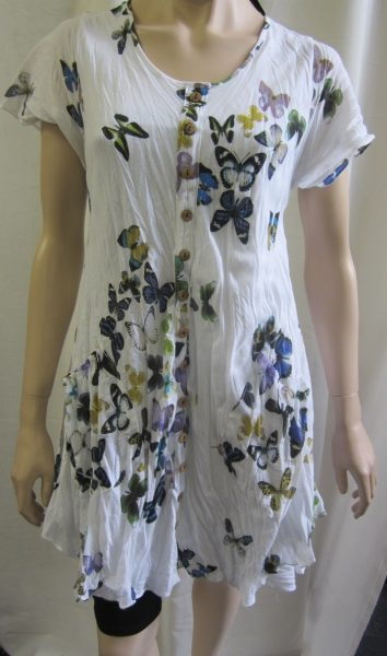 Butterfly Dress With Buttons