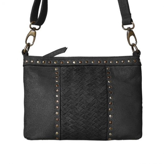 Cadelle Leather Erin Woven Bag