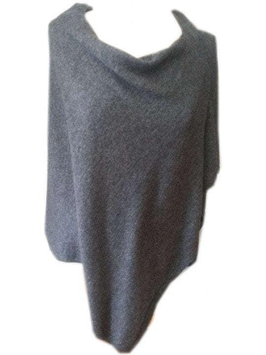 Caprus Round Neck Wool Poncho