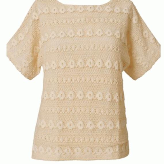 Celtic & Co Crochet Front Top