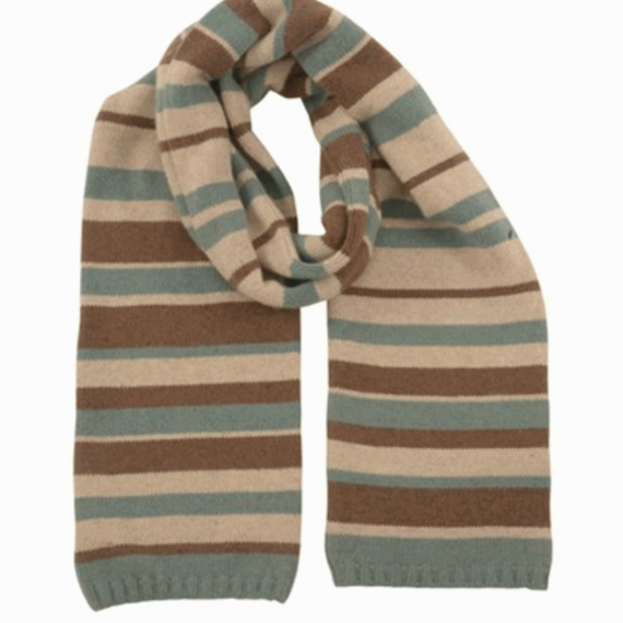 Celtic & Co Wool & Angora double layer scarf
