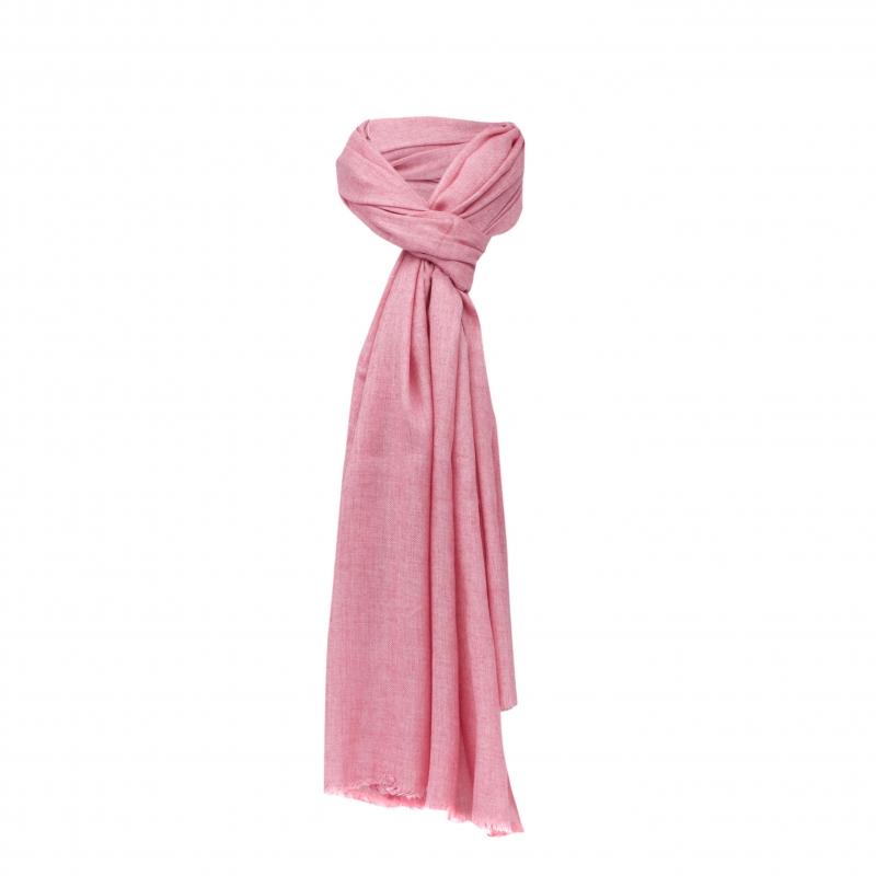 Chele & Maye Pink Wool Scarf