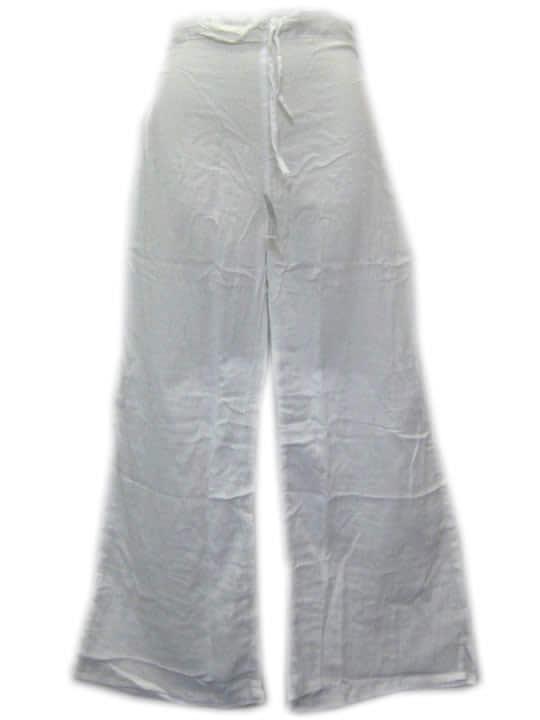 Cotton Lightweight Pants White