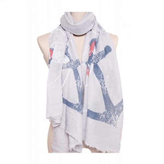 Cotton Scarf Anchor