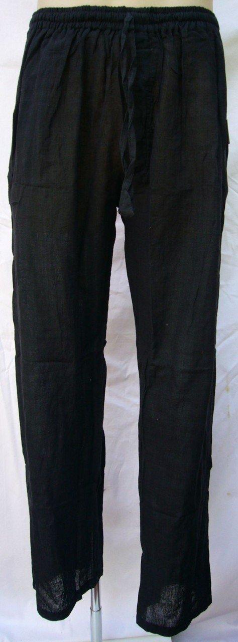 Cotton Stretch Waist Pants