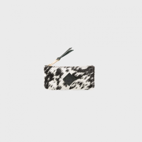 Exotic Cowhide Purse Small
