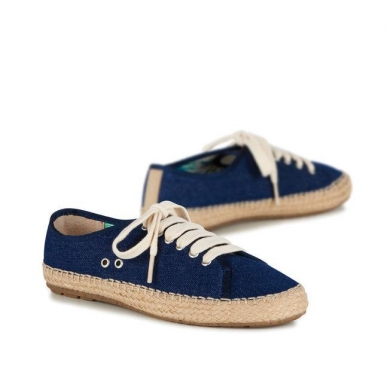 Emu Agonis Canvas Lace up Espadrille