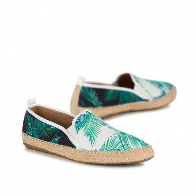 Emu Gum Canvas Palm Espadrille