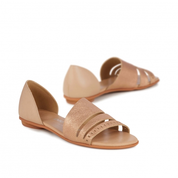 Emu Ibis Rose Gold Sandal