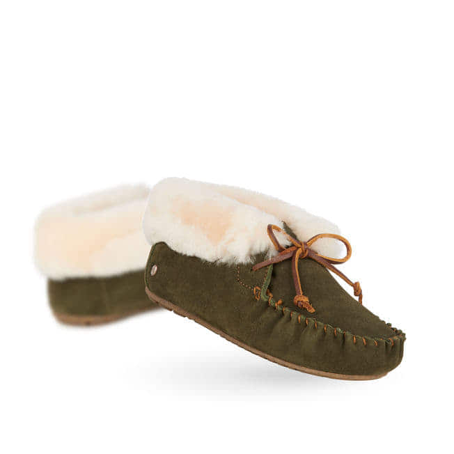 7582a5f1090 Emu Moonah Moccasin Slipper