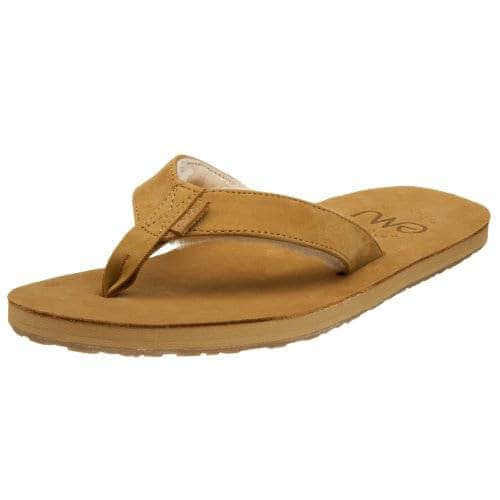 Emu Sheepskin Thong Tan