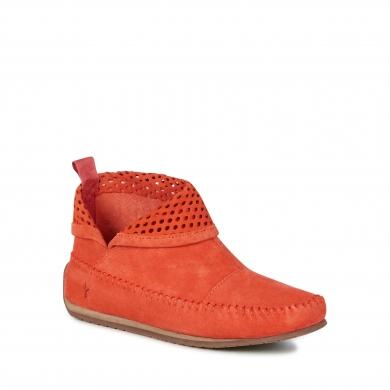 Emu Suede Ghostgum Boots - Burnt Red
