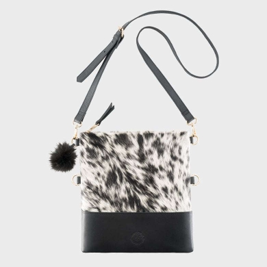 Exotic Cowhide Handbag