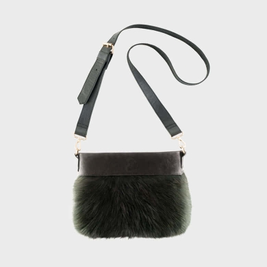 Fox Handbag Black Medium