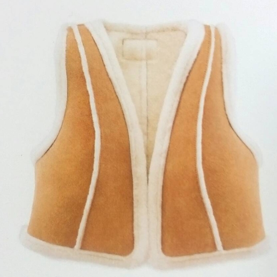 Ugg Australia Ladies sheepskin vest cropped