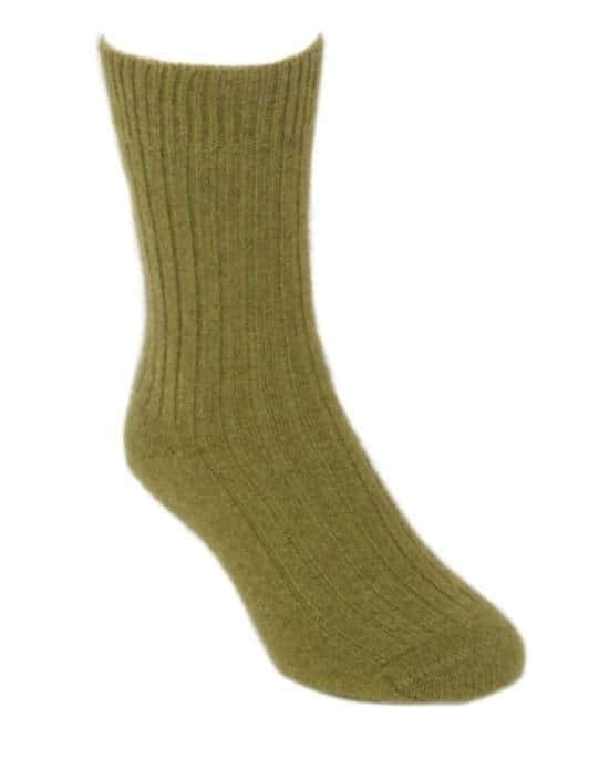 Lothlorian Possum Merino Socks Medium