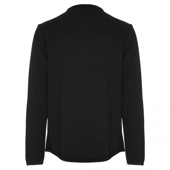 Merino Fleece Thick Zip Jacket Black