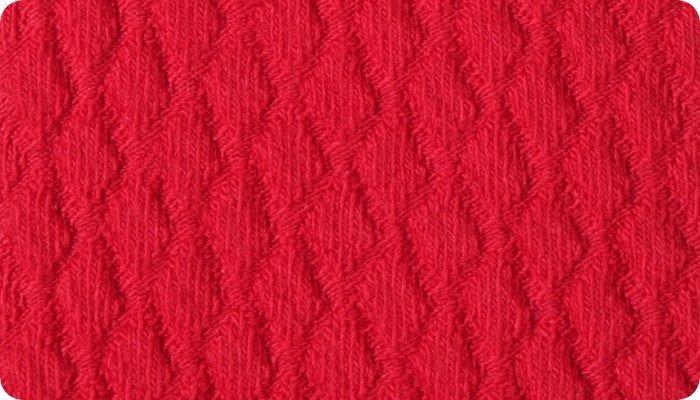 Merino Wool Diamond Pattern Sock