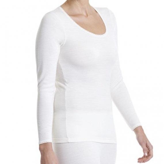 Merino Wool Thermal Long Sleeve Round Neck