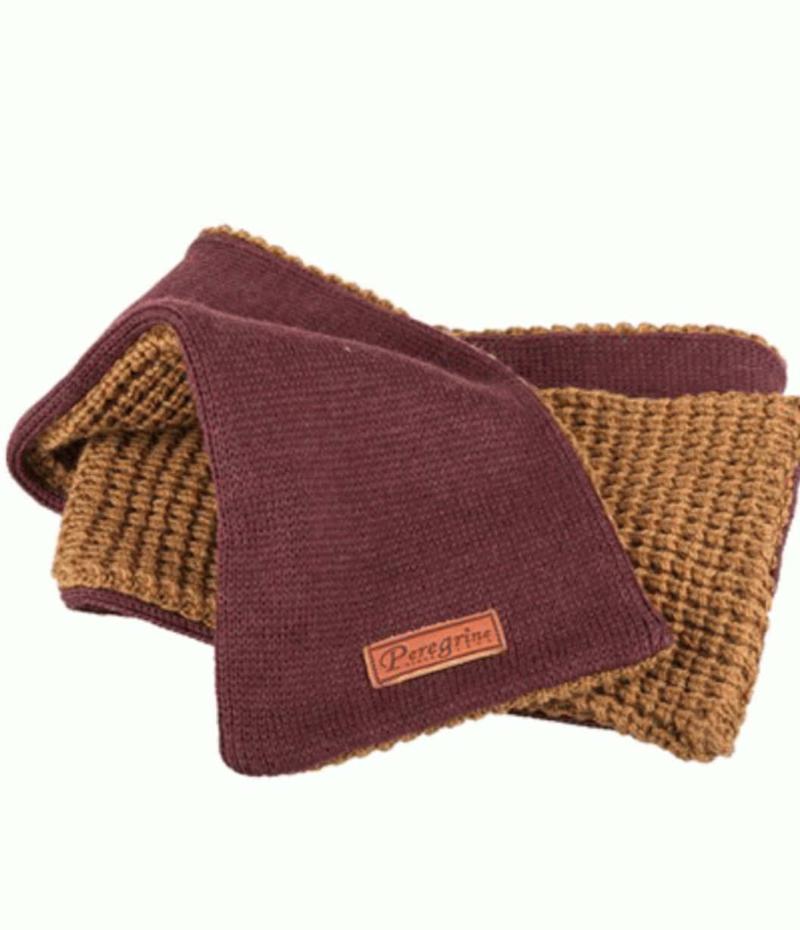 Peregrine merino wool scarf
