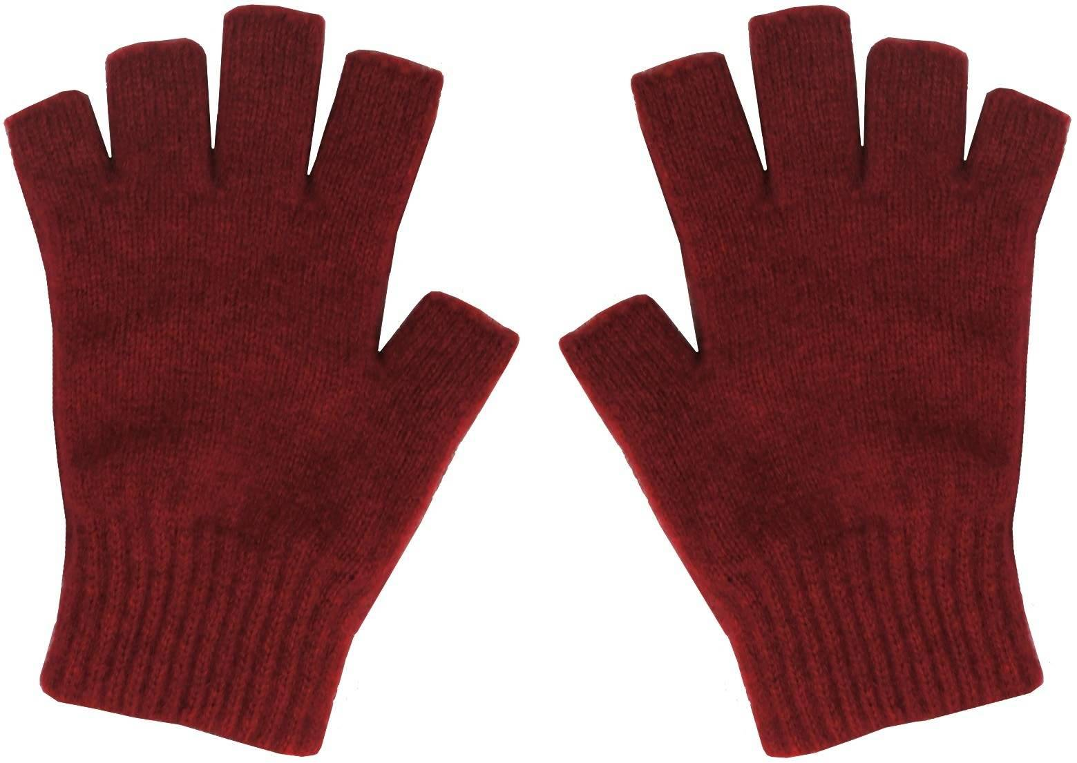 Buy Possum Merino Fingerless Gloves Medium Afterpay Zippay The Knit Hoodie Maroon
