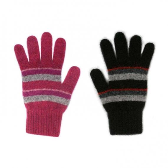 Possum Merino Stripe Gloves