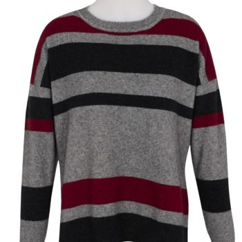 Possum Merino Striped Jumper