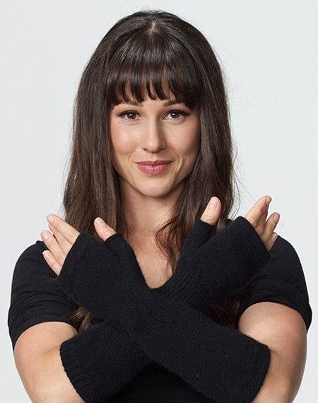 Possumdown Striped Glovelet