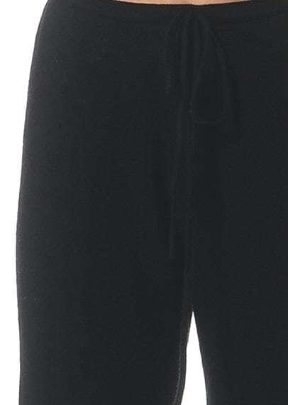 Pure Cashmere Pants Black