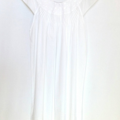 Pure Cotton Embroidered Nightie