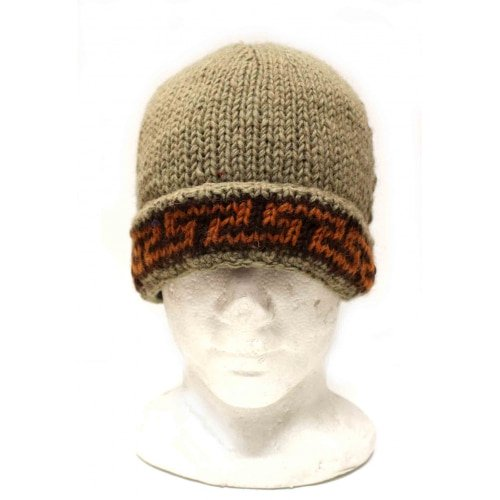 Pure Wool Lined Beanie