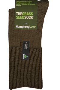 The grass seed sock