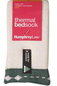 Humphrey Law Thermal Bed Socks small