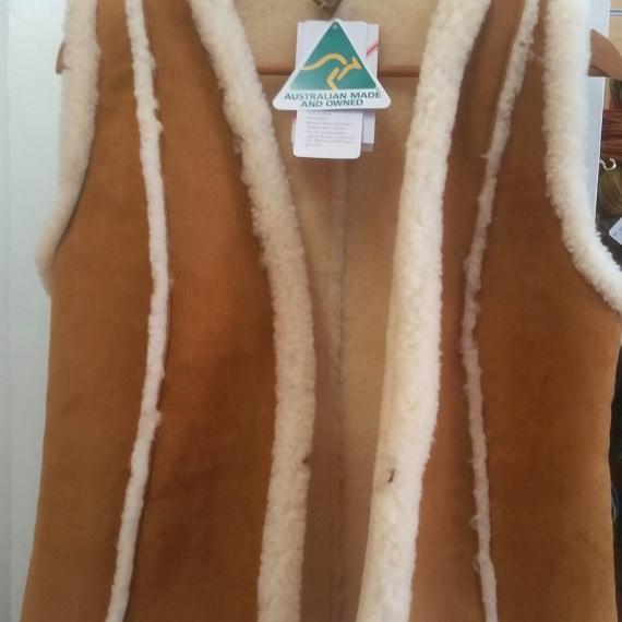 Ugg Australia Ladies sheepskin vest long